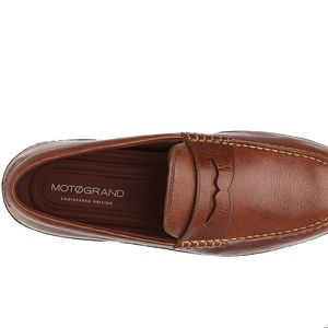 Cole Haan Moto Grand leather penny loafer slip-on
